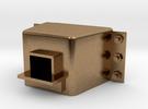 D29 External Coupler Pocket 1:34 in Raw Brass