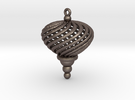 Geometric Twist Ornament - thickened for Steel and in Stainless Steel