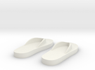 Flip-flop magnets in White Strong & Flexible