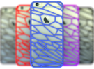 Fracture case for iPhone 6 in Blue Strong & Flexible Polished