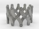 Expandable Bracelet SX in Metallic Plastic