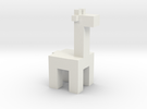 Squared Giraffe in White Strong & Flexible