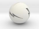Lightning Ball! in White Strong & Flexible