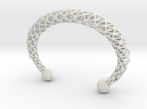 TORC BRACLET in White Strong & Flexible