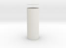 Columna Rotunda Solida in White Strong & Flexible