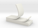 Sticky note phone stand in White Strong & Flexible
