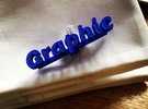 Graphic Typelink in Blue Strong & Flexible Polished