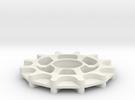 Idler - GT2-11 belt - 12 teeth in White Strong & Flexible