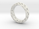 Trous Ring S10 in White Strong & Flexible