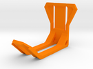 Headset Holder in Orange Strong & Flexible Polished