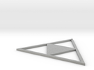 Triforce Earing in Metallic Plastic