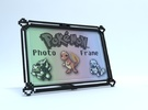 Pokemon Photo Frame (4x6) in Black Strong & Flexible