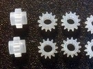 O Scale Rivarossi F9 Drive Gear x4 1:48 in Frosted Ultra Detail