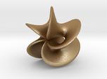 Geometric Pendant -  Mobius Flower