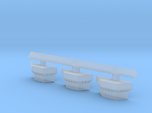 1:350 Scale Nimitz Class Conflag Station 3 Pack