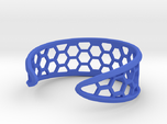 Cuff Bracelet, Honeycomb Mesh