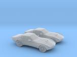 1/160 2X 1969 Chevrolet Corvette Stingray