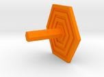 Key Hanger - Hexagon Design