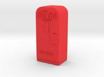 Coke Machine - Qty (1) HO 87:1 Scale