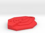 Ipsc Mini Target keychain