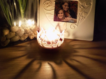 Hedera Tealight Holder- Small