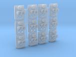 SP Full Rear Cluster (Flat)(HO - 1:87) 12X