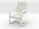Miniature Metal Lawn Chair 1-12 not full size