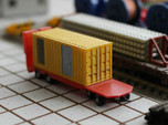 N Scale Generator In 20ft Container