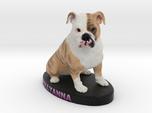 Custom Dog Figurine - Pollyanna