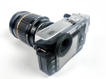 Eyecup adapter for X-E1 / X-E2
