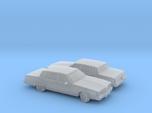 1/160 2X 1980 Oldsmobile 98 Regency  Sedan