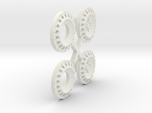 S05-SI1 4WD Wheel Inserts Lancia OZ Rally