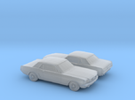 1/160 2X 1964 Ford Mustang GT