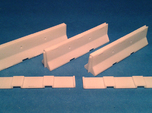 1/50 Jersey Barrier (10 ft/3m) [3 Pack]