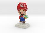 Super Plumber Red Bro Pixel Figurine