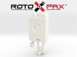 AJ10017 RotoPax 1 Gallon Fuel Pack - WHITE