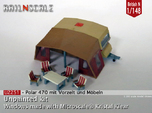 Polar 470 Caravan with tent (British N 1:148)
