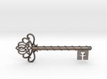 Skeleton Key with Celtic Knot