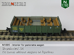 Interior for panorama wagon (N 1:160)