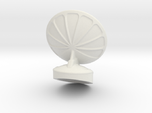 Free Standing Radar Dish 6mm Scale