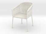 1:12 Chair Braided for patio or inside