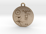 Voyager I Golden Record Pendant