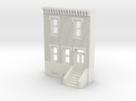 N SCALE ROW HOUSE FRONT 2S REV