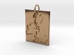 United Kingdom Silhouette Pendant