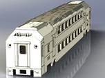 Nj Transit MultiLevel Coach (HIghDetailed) N Scale