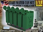 1-18 Military Water Can 5 Units