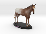 Custom Horse Figurine - Rusty