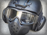 Airsoft GSG9 Style Ear Cups for IBH Helmet