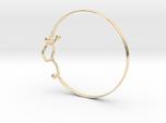 Dopamine Bangle Bracelet: Large: 75mm diameter