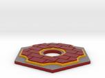 Catan Hex Tile Brick 79mm